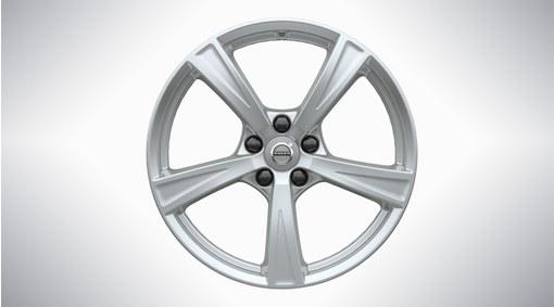 "18"" 5-Spoke Sparkling Silver Alloy Wheel - 233"