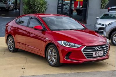 2017 Hyundai Elantra AD MY17 Active Sedan Image 3