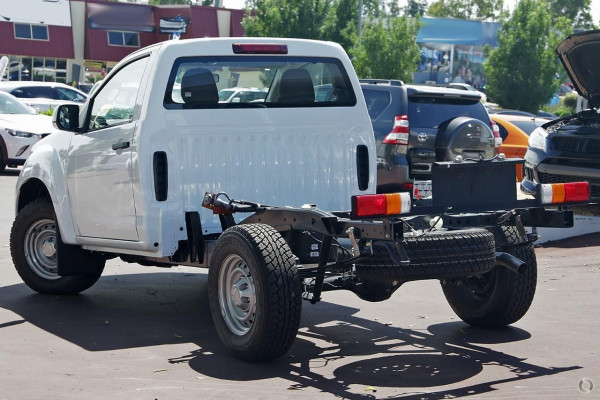 2019 Isuzu UTE D-MAX SX Single Cab Chassis 4x4 Cab chassis Image 3