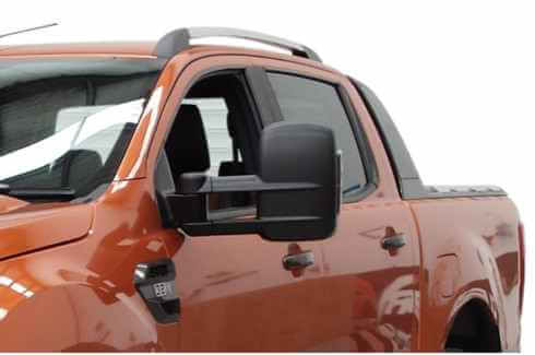 Towing Mirrors Black With Heating - Clearview - FLA