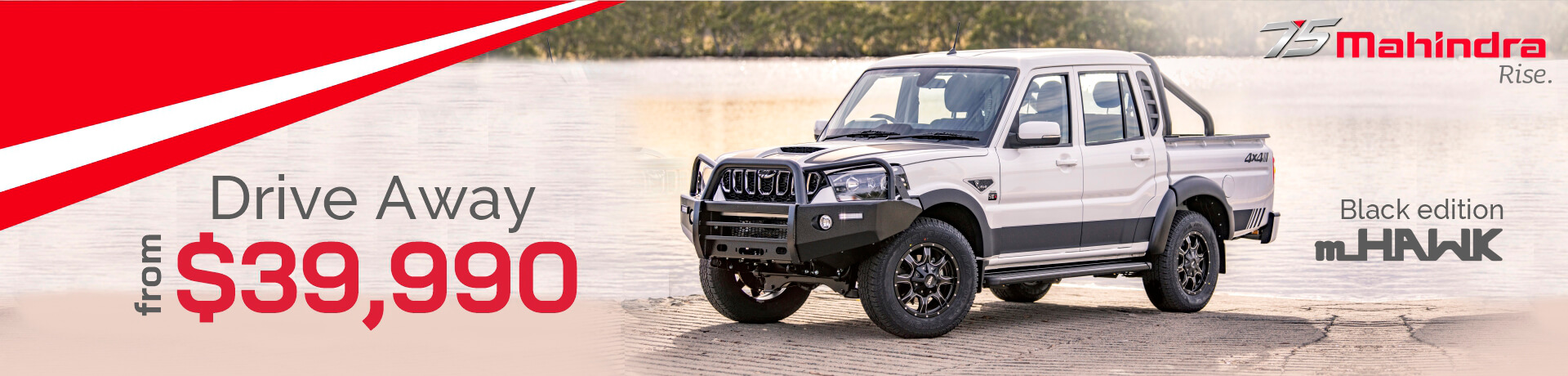 Pikup S10+ Dual Cab Black Edition mHAKW. View all current Mahindra Offers.