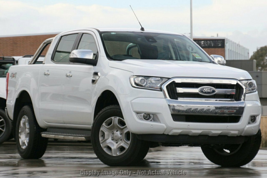2018 Ford Ranger PX MkII 4x4 XLT Double Cab Pickup 3.2L Cab chassis