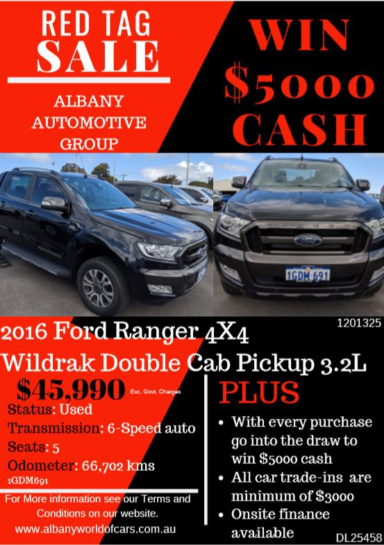 2016 Ford Ranger 4x4