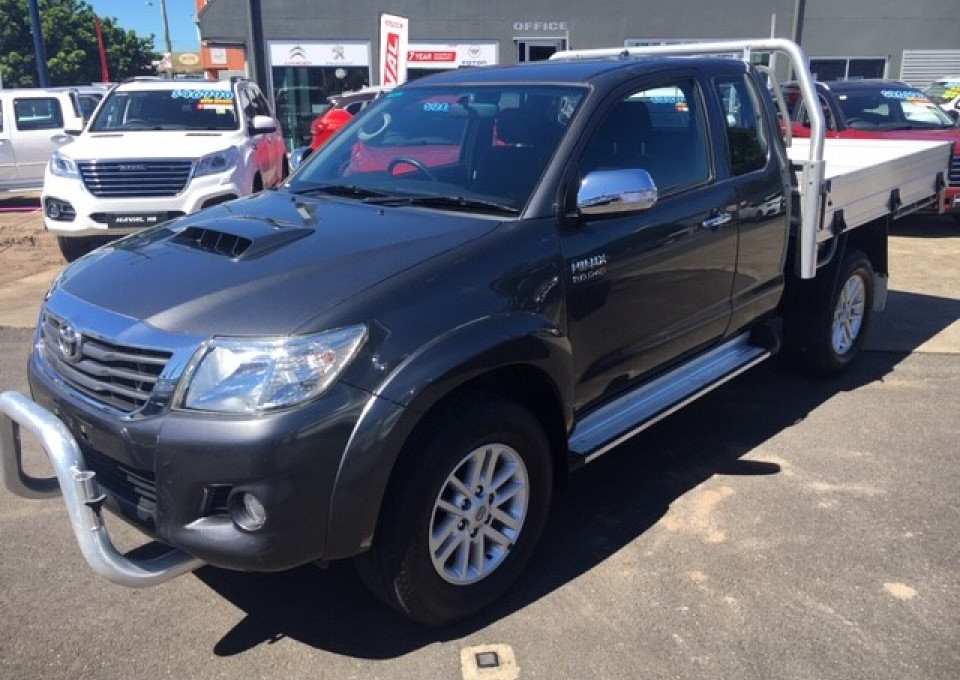 2015 MY14 Toyota HiLux KUN26R  SR5 Utility - extended cab