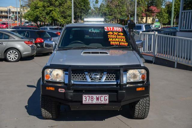 2009 Nissan Navara D22 MY09 ST-R Utility Image 2