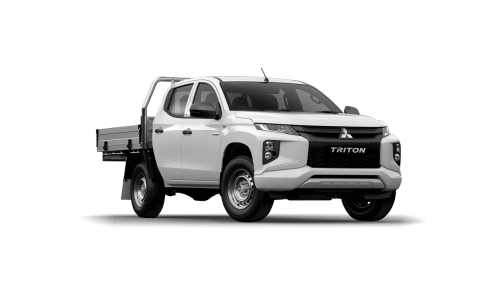 GLX Double Cab Chassis 4WD