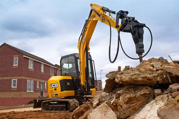 2021 JCB 65R-1 Excavator (No Series) 65R-1 Excavator Image 3