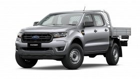 2020 MY21.25 Ford Ranger PX MkIII XL Double Cab Chassis Utility