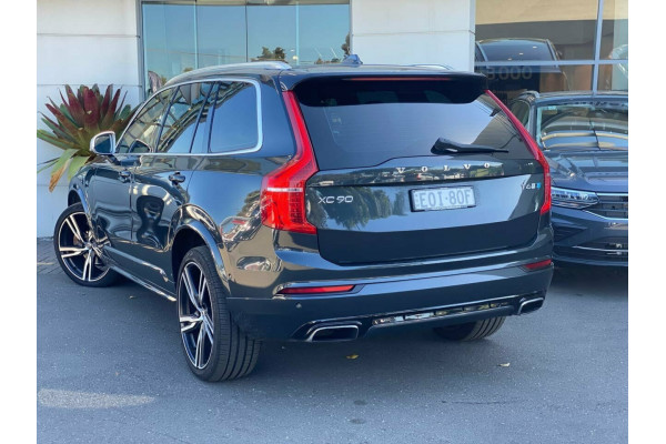 2018 Volvo XC90 L Series MY18 T6 Geartronic AWD R-Design Suv Image 3