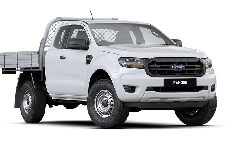 2019 MY20.25 Ford Ranger PX MkIII 4x4 XL Single Cab Chassis Ute