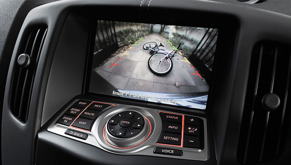 370Z Roadster Everything you need in one easy to use touchscreen.