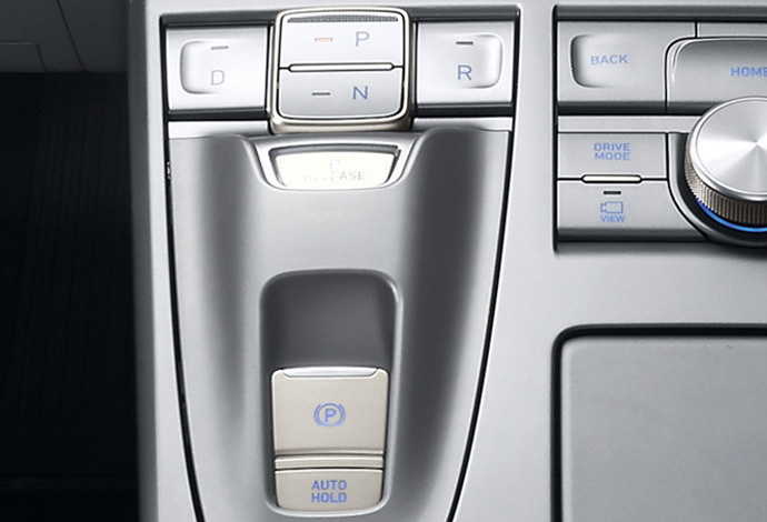 Electronic parking brake. Image