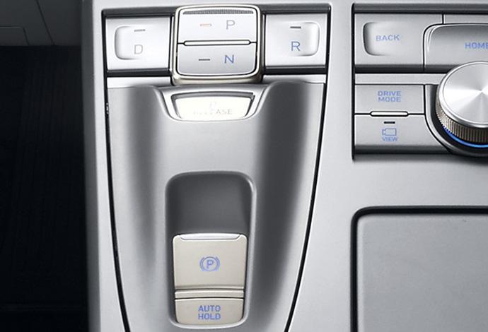 Electronic parking brake. Image