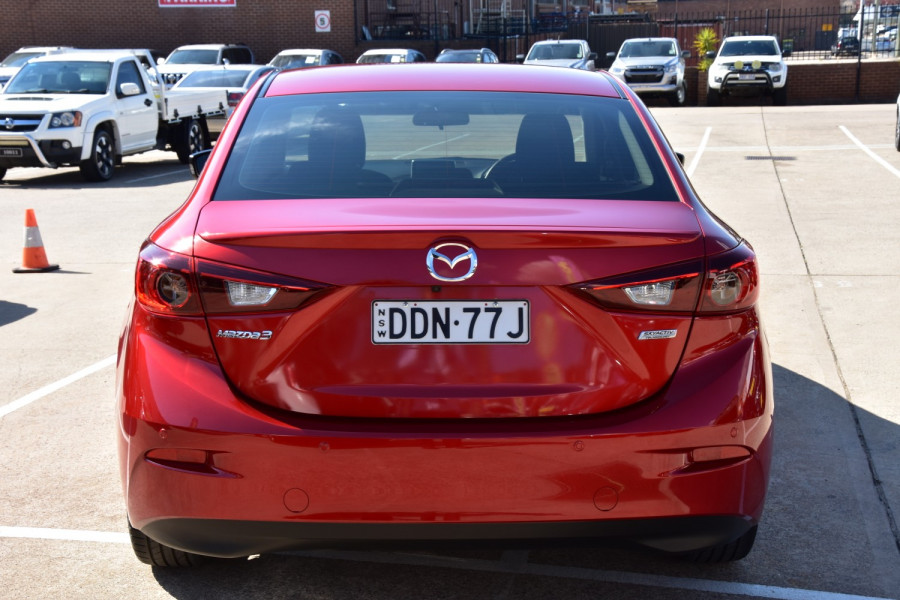 2016 Mazda 3 BM Series SP25 Sedan Sedan Image 9