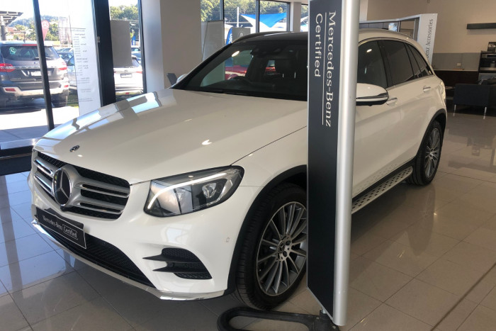 2018 MY08 Mercedes-Benz Glc-class X253 808MY GLC250 d Wagon