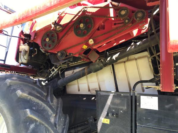 2015 Case IH 7230 HEADER Combine front & header