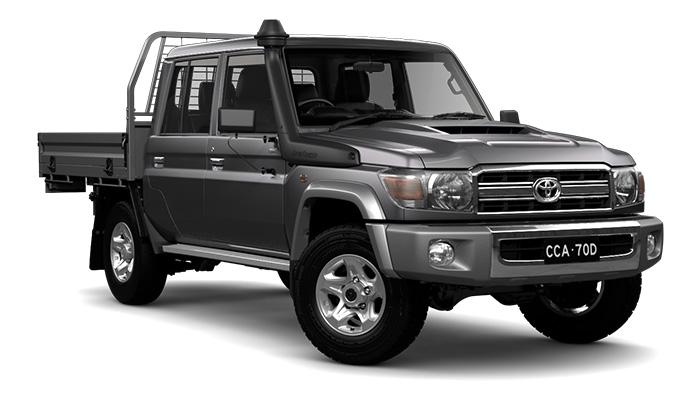 Landcruiser gxl dual cab ute for sale
