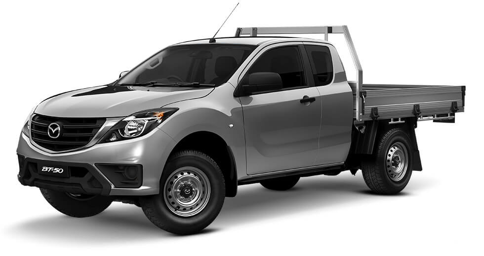 2019 Mazda BT-50 UR 4x2 3.2L Freestyle Cab Chassis XT Freestyle cab chassis