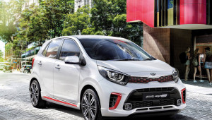 Picanto Style never sits still.