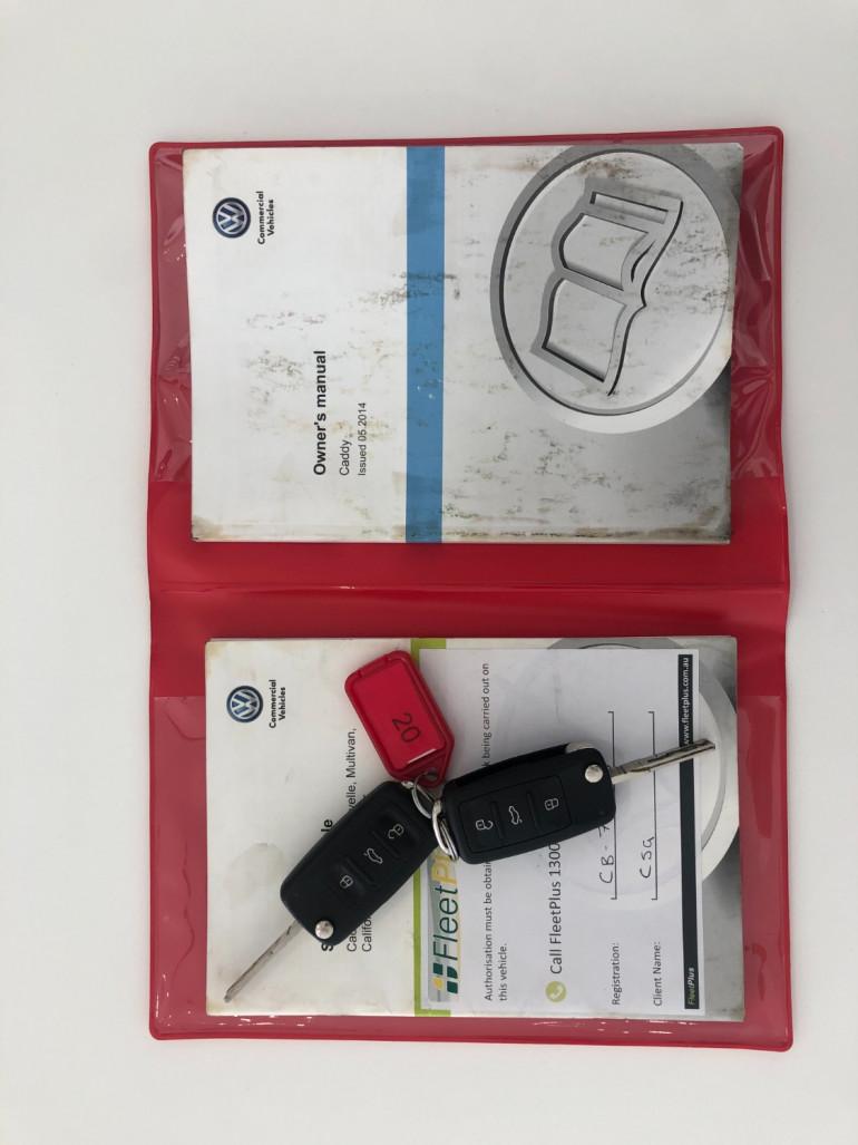 2014 Volkswagen Caddy 2KN Turbo TDI250 Van Image 15