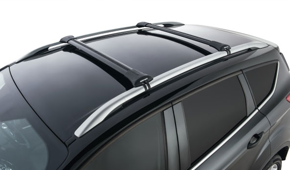 Carry Bars - Rhino-Rack Stealth - Black - FLA