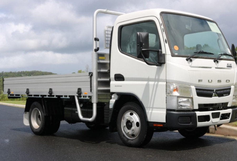 2020 Fuso Canter 515 CITY CAB Tradesman Tra SAFETY PACK + INSTANT ASSET WRITE OFF 515 AUTO 515 CITY CAB Tray
