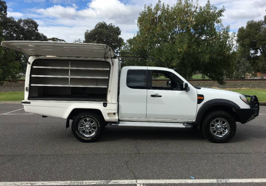 2010 Ford Ranger PK XL (4X4) Super cab chassis