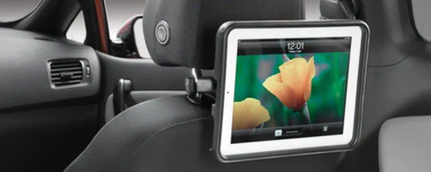 "<img src=""iPad cradle - Rear Seat"