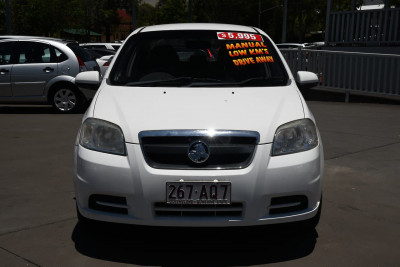 2007 Holden Barina TK MY07 Sedan