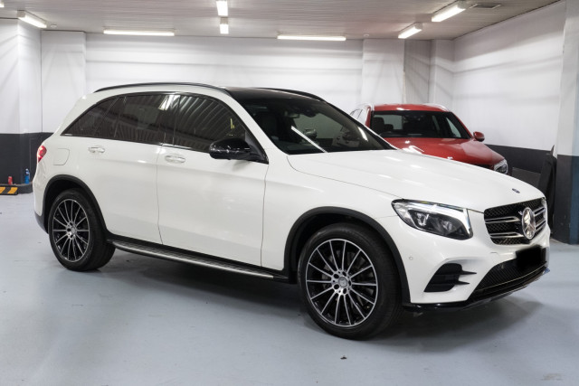 2016 MY07 Mercedes-Benz Glc-class X253  GLC250 d Wagon Image 2