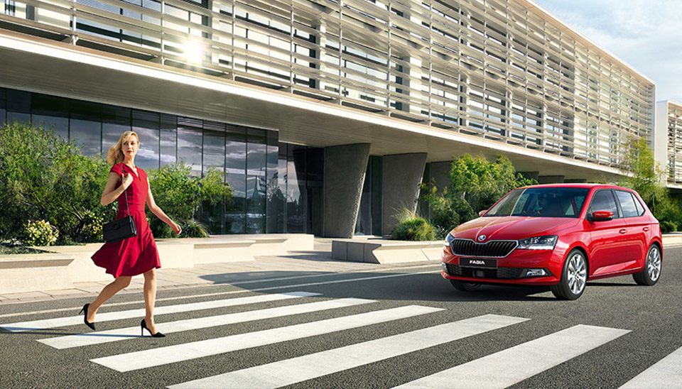 Fabia Front Assist with City Emergency
