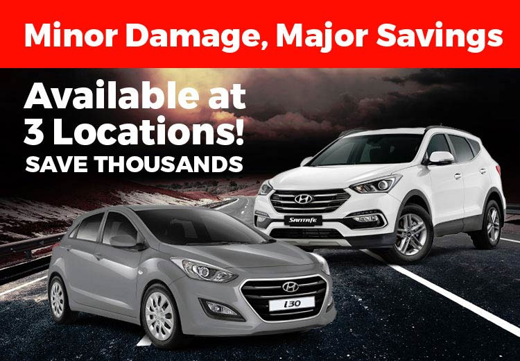 Hail Damage Hyundai Sale