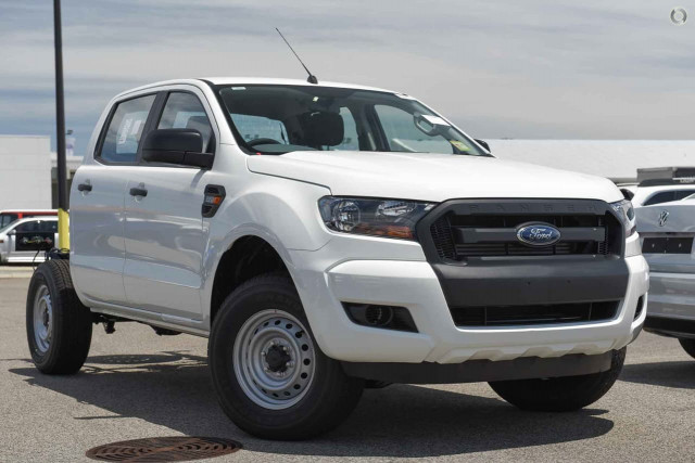 2016 MY17 Ford Ranger PX MkII 4x2 XL Double Cab Pickup 2.2L Hi-Rider Cab chassis