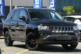 Jeep Compass Blackhawk CVT Auto Stick MK MY14