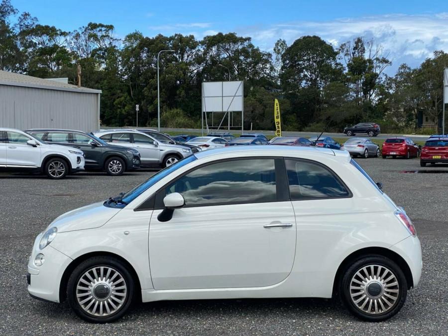 2008 Fiat 500 Series 1 Pop Dualogic Hatchback Image 4