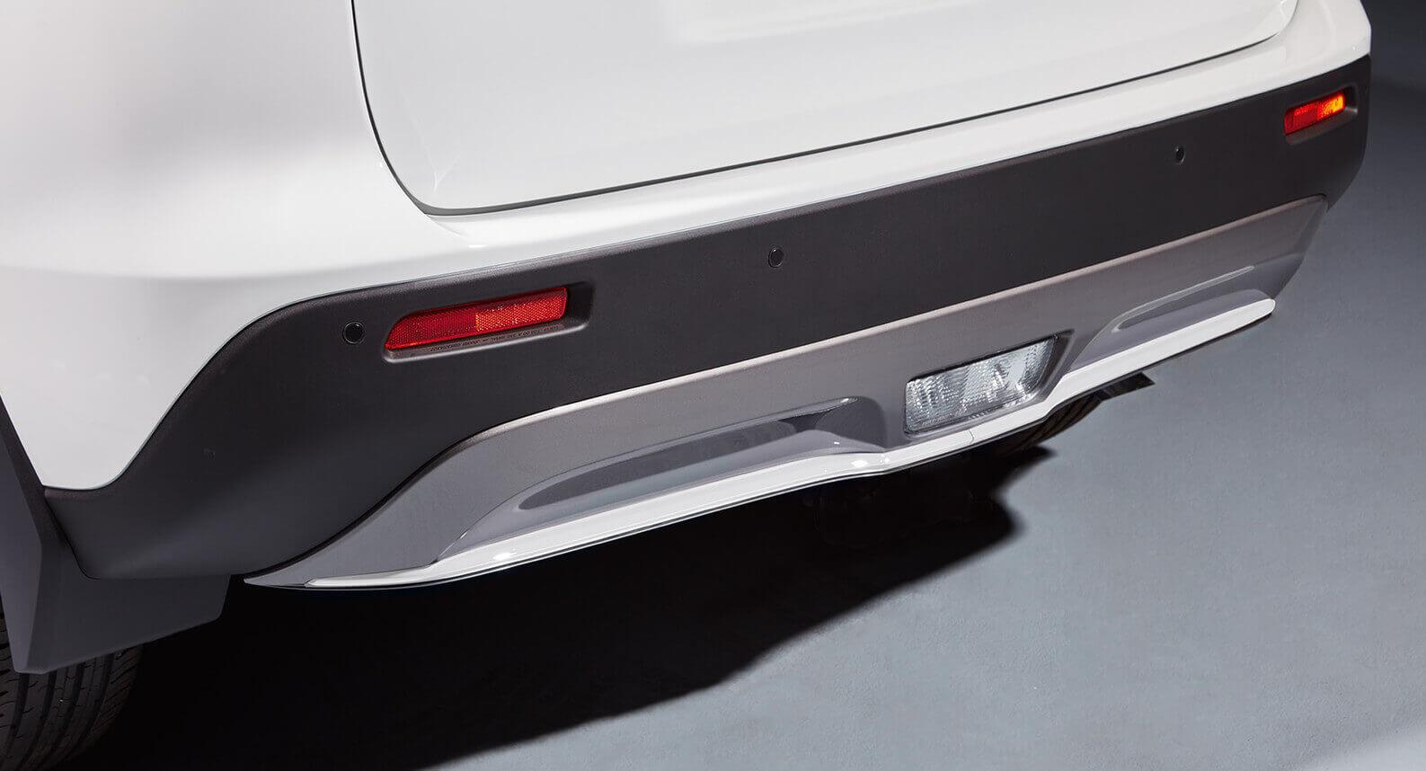 Rear Bumper Centre Accent Line - White