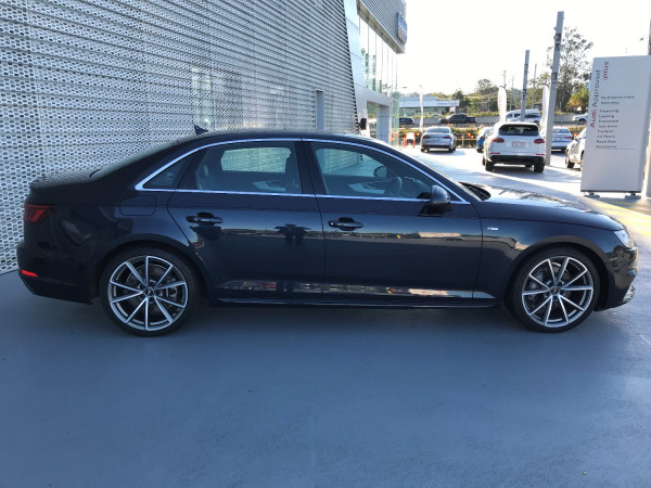 2017 MY18 Audi A4 B9 8W MY18 S line Sedan