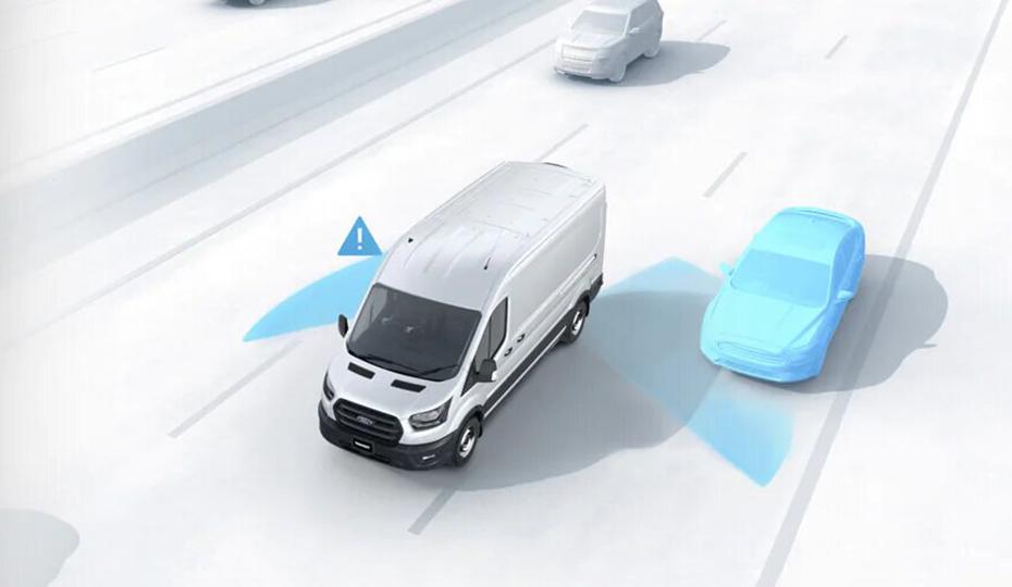 Transit Van Blind Spot Information System (BLIS)