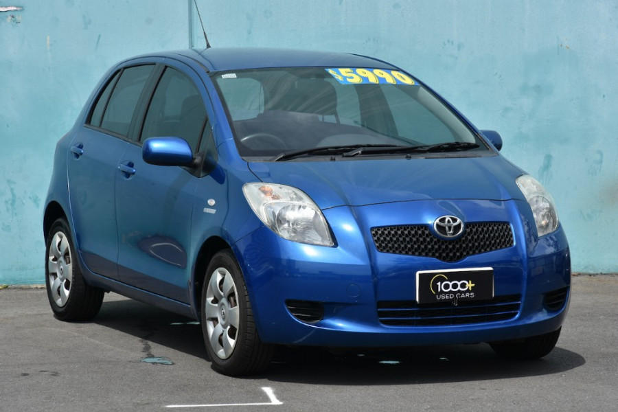 2006 Toyota Yaris NCP91R YRS Hatchback