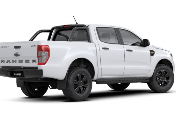 2019 MY19.75 Ford Ranger PX MkIII 4x4 Sport Special Edition Double Cab Pick-up Utility Image 3