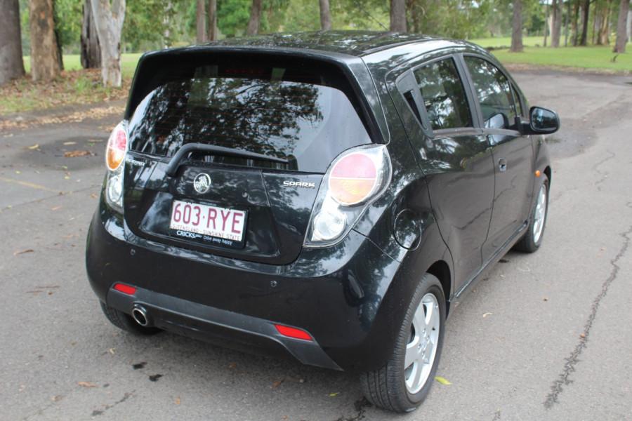 2011 Holden Barina Spark MJ  CD Hatchback Image 8