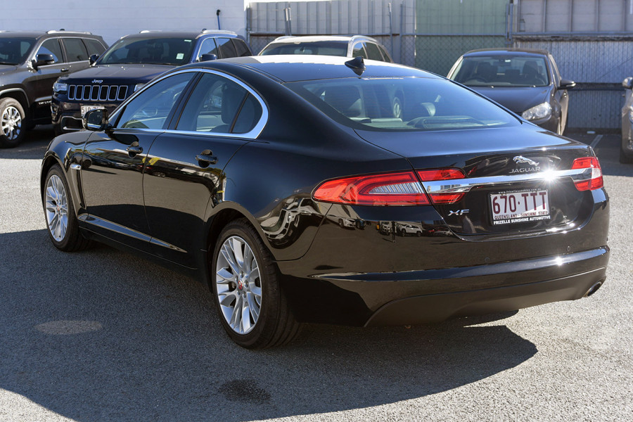 2013 Jaguar Xf X250 MY13 Luxury Sedan