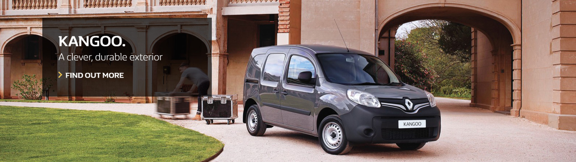 Renault Kangoo - A clever, durable exterior