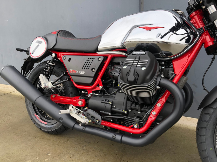 2020 Moto Guzzi V7 Racer III 10th Ann Motorcycle Image 25
