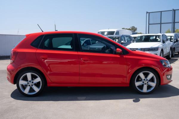 2011 Volkswagen Polo 6R  77TSI Comfrtline Hatchback Image 5