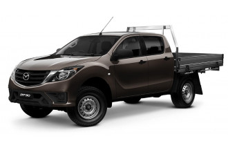 Mazda BT-50 4x4 3.2L Dual Cab Chassis XT UR