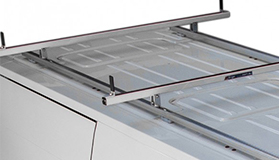 Aluminium roof bars - L2, pair
