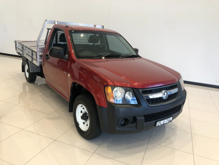 2008 Holden Colorado RC DX 2wd cab chassis