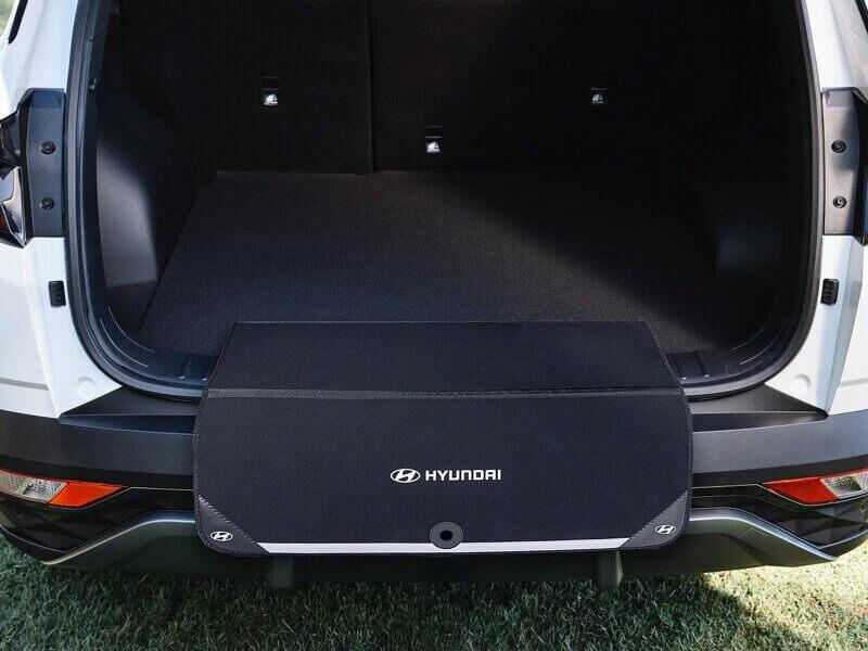 Fabric rear bumper protector