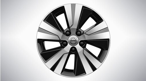 "16"" 5-Spoke Black Diamond Cut - 1072"